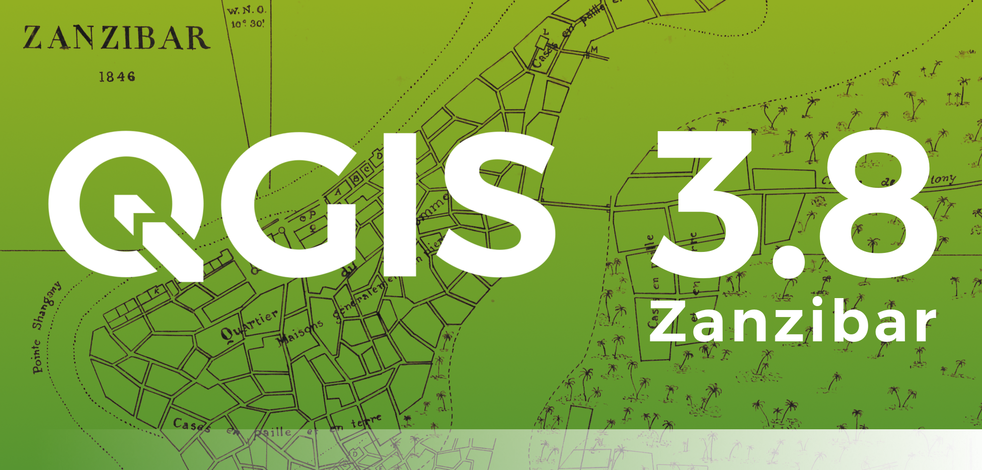 Changelog for QGIS 3 8