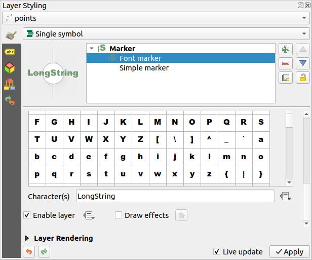 Changelog for QGIS 3 8