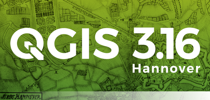 Splash screen QGIS 3.16