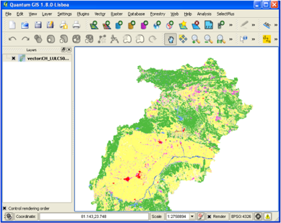 Use of python console to prepare offline map from wms tile downloader qgis with wms tiles gumiabroncs Images