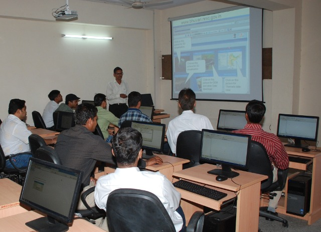 QGIS Trainings at NIRD Jaipur Centre, India