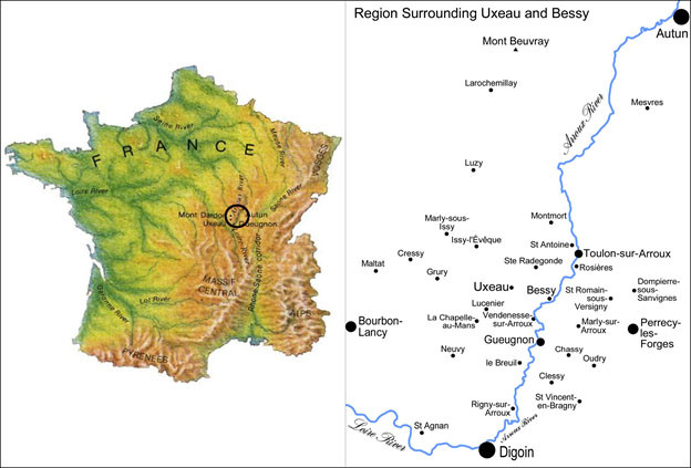 The Burgundy Historical Landscapes Working Group
